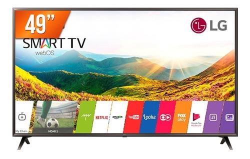 "Tv 49"" Led LG 4k - Ultra Hd Smart - 49uk6310"