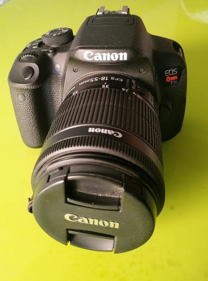 Canon T5i + 3 Lentes