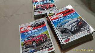 Revista 4 Rodas (todos Exemplares Ano 2013)