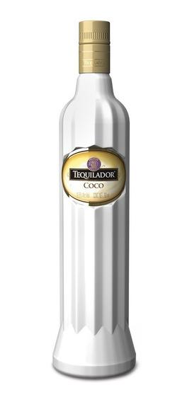 Tequilador Licor De Coco Base Tequila 100% Agave Azul 750ml