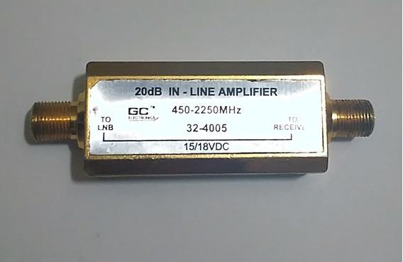 Amplificador De Linea Cable Coaxial Conector Rg6