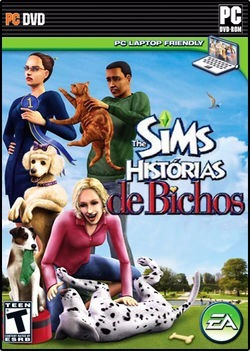 The Sims Histórias De Bichos Original Pc Dvd