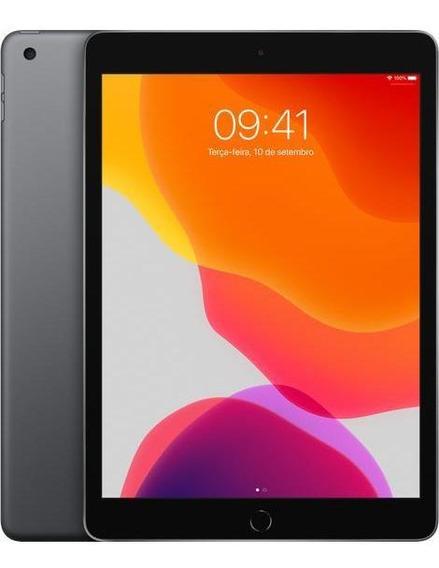 iPad 7 10,2 Apple 128gb Wi-fi Cinza Espacial - Frete Grátis