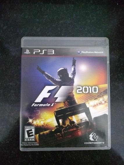 Formula 1 2010 - Ps3 Original Em Mídia Fisica