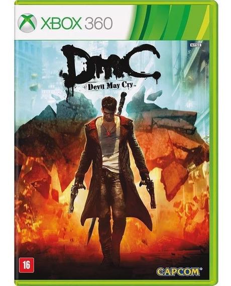 Jogo Devil May Cry (novo) Xbox 360