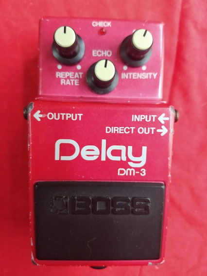 Pedal Boss Dm-3 Delay Made In Japan
