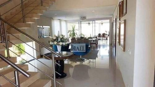 Casa À Venda Condomínio Golden Park Com 4 Quartos 2vagas, 396m² - V2277