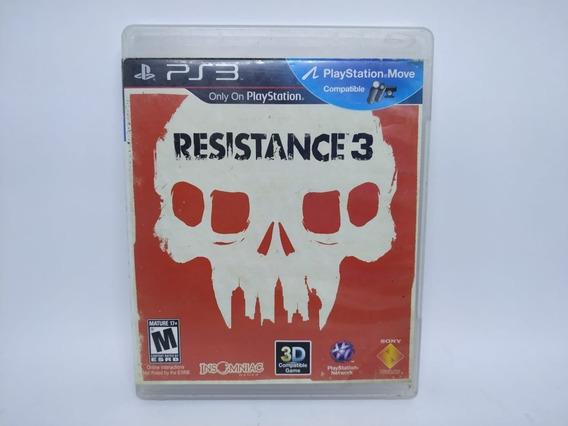 Resistance 3 Original Playstation 3 Ps3 Mídia Física Usado