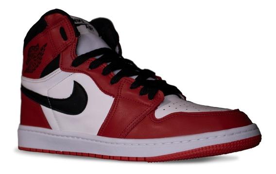 Tênis Nike Jordan 1 Chicago Retro High 12x S/ Juros + Frete