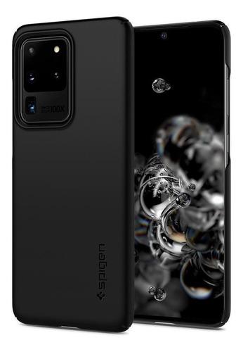 Capa Original Spigen Galaxy S20 Ultra 5g Thin Fit Ultra Leve