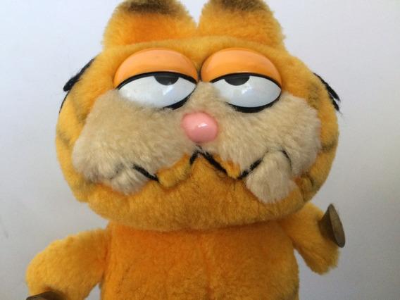 Gato Garfield Com Ventosas - Anos 80 - Estrela