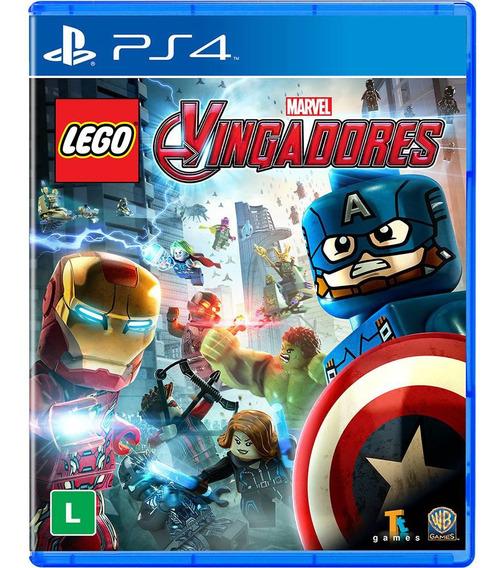 Jogo Lego Marvel Vingadores Ps4 Disco Fisico Cd Original Br