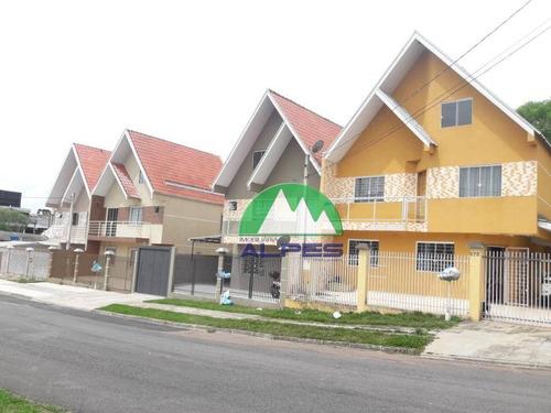 Sobrado Com 3 Dormitórios À Venda, 144 M² Por R$ 530.000,00 - Capão Raso - Curitiba/pr - So1209