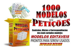 Kit 1000 Modelos De Petições Editáveis + Brindes