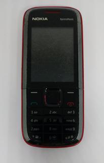Nokia 5130c Preto/vermelho Com Defeito Sem Garantia