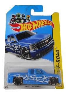 Fermar4020 Chevy Silverado A-192 #132 2014 Hot Wheels