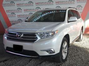 Toyota Highlander 2013 Premium Sport Aa Qc Piel At Blanco