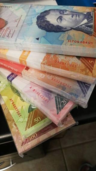 Set De Billetes De Venezuela - Todos Sin Circular - Dealers