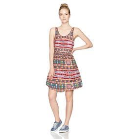 Vestidos Roxy Women S So Smart Scoop Neck Sleeveless Dress