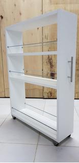 Organizador Lateral Costado Heladera Varillas - Small 80cm