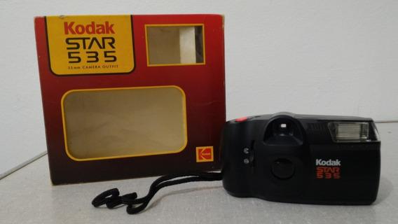 Câmera Fotográfica Antiga, Kodak Star 535 (funcionando)