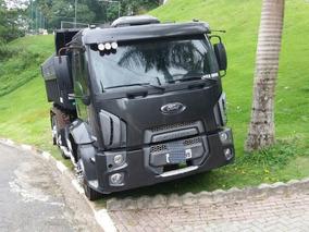 Caminhão Ford 2428 6x2 2012 Basculante Perfeito Estado