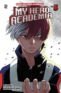 My Hero Academia 5! Mangá Jbc! Novo E Lacrado!