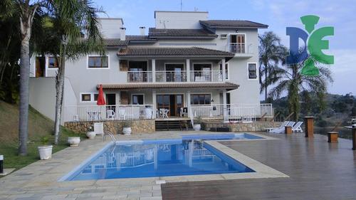 Chácara Com 6 Dormitórios À Venda, 5500 M² Por R$ 4.000.000,00 - Chácaras Condomínio Recanto Pássaros Ii - Jacareí/sp - Ch0050