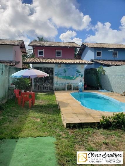 Casa 3 Suítes Com Terreno De 1.300m² Em Vila De Abrantes - Ca00470 - 34000794