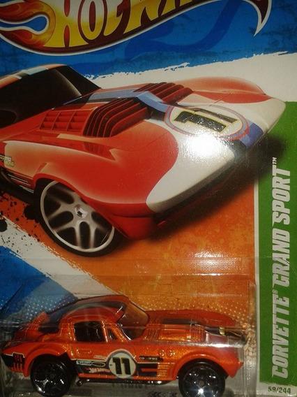 Miniatura Corvette Grand Sport Hot Wheels T-hunt Novo !!!