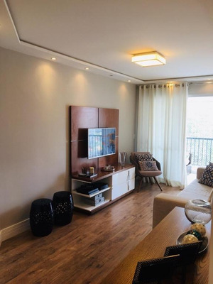 Apartamento Em Vila Gumercindo, São Paulo/sp De 80m² 3 Quartos À Venda Por R$ 725.000,00 - Ap219453
