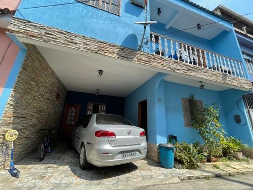 Vende Casa Duplex De 3 Quartos Na Rua Albano, Praça Seca. - Ca00138 - 34239969