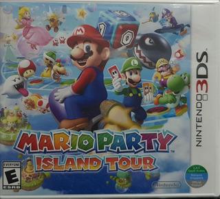Mario Party Island Tour - 3ds