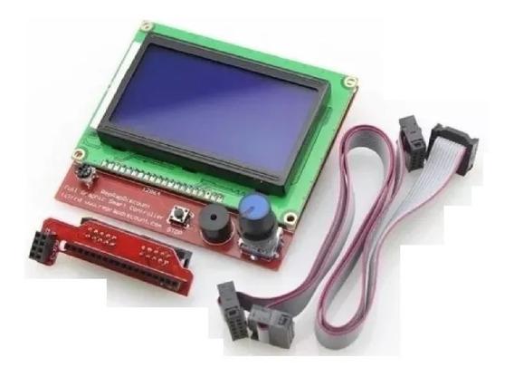 Display Controladora Lcd 128x64 Painel De Impressora 3d