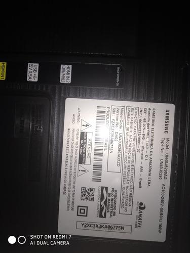 Imagem 1 de 5 de Tv Samsung 40 Polegadas Modelo Un40j529ag