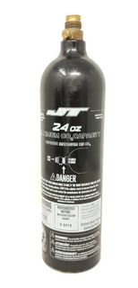 Tanque Co2 24 Oz Recargable Para Gotcha Marcadora Jt Usado