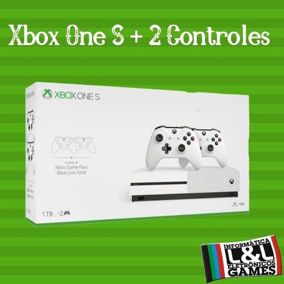 Console Xbox One S 1tb 2 Controles Novo