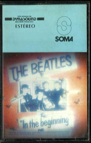 Fita K7 The Beatles In The Beginning
