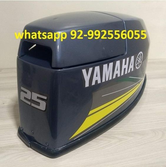 Capo Para Motor De Popa Yamaha 25hp Vm Novo Faixa Amarela