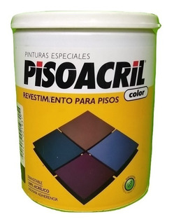 Pintura Revestimiento P/piso Pisoacril Plaviconx1 Lt.menvios