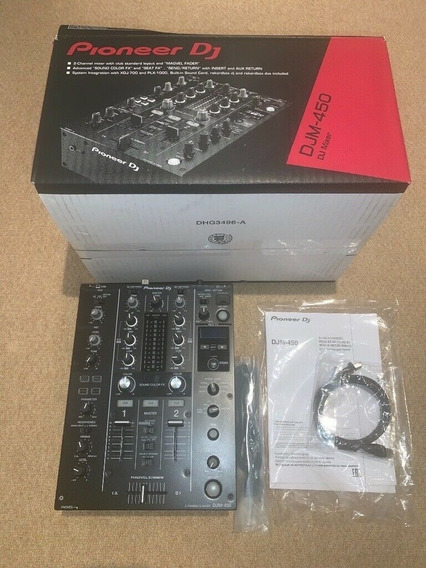 Mixer Djm 450 Pioneer Dj Semi-novo Na Caixa