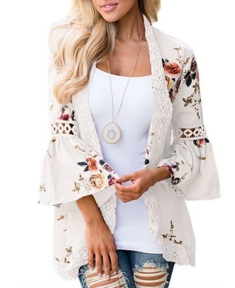 Dymade Kimono Cardigans De Kimono Para Mujer