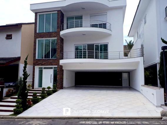 Casa Com 4 Dormitórios À Venda, 436 M² Por R$ 3.200.000,00 - Jardim Hollywood - São Bernardo Do Campo/sp - Ca0027