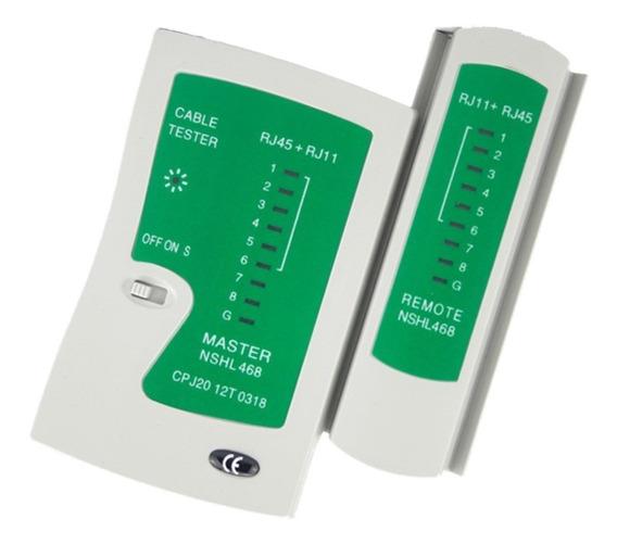 Lan Tester Probador Para Cables Utp De Red Rj45 Y Rj11