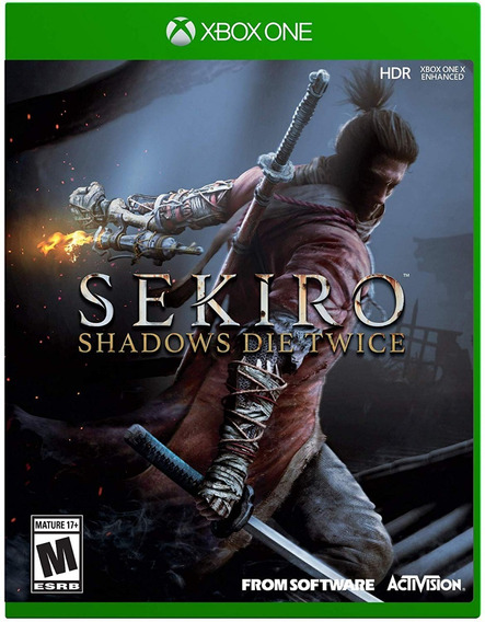 Sekiro Shadows Die Twice - Xbox One - Mídia Física!