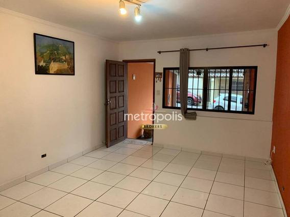 Sobrado Com 2 Dormitórios À Venda, 120 M² Por R$ 388.000 - Santa Paula - São Caetano Do Sul/sp - So0555
