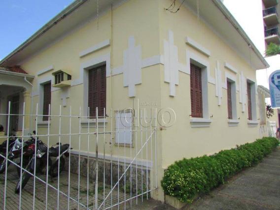 Casa Para Alugar Ou Vender, 396 M² - Centro - Piracicaba/sp - Ca2570