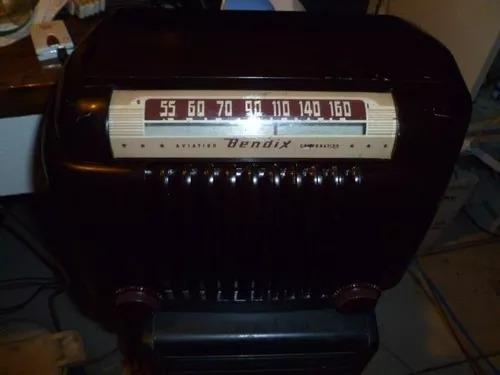 Radio Antigo Valvulado Bendix Mod 526a 1947 Toaster Am