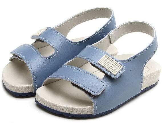 Sandália Azul Club 62 Velcro Pimpolho 32736c
