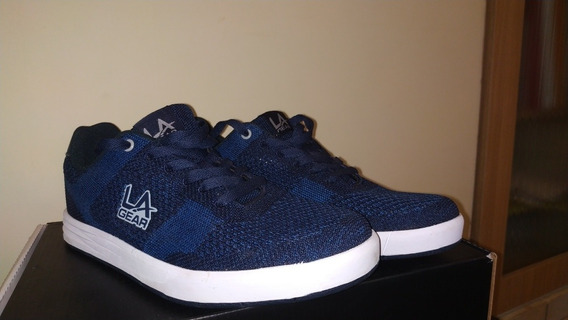 Zapatillas La Gear Orion Men Azul Envio Gratis